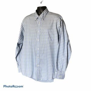 Lands End No Iron Pinpoint Oxford shirt NWOT